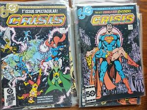 Crisis on Infinite earths 1-12 mint condition