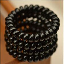 5PCS  Elastic Women Extendable Rubber Hair Rope Hair Ties Telephone Wire