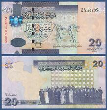 LIBYEN / LIBYA 20 Dinars (2009)  UNC  P.74