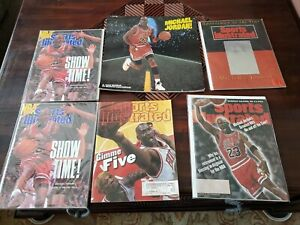 LOT 6  MICHAEL JORDAN SPORTS ILLUSTRATED/Calendar CHICAGO BULLS BASKETBALL 1990s