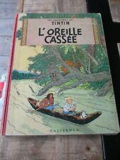 Hergé-Tintin-Bd l oreille cassée-Dos rouge 4ème plat B 26