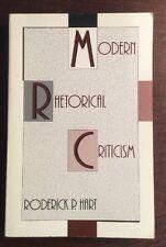 Modern Rhetorical Criticism (1990, Softcover) Roderick P Hart PreOwnedBook.com