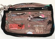 Lesportsac Hawaii Exclusive E Komo Mai C Everyday Cosmetic Bag New With Tags