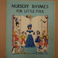 NURSERY RHYMES FOR LITTLE FOLK, Bunty Crombie, Edgar Moy, 1939
