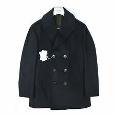 Armani Collezioni - Navy Reefer Coat - Size 54 / 44 UK  *NEW WITH TAGS* RRP£695