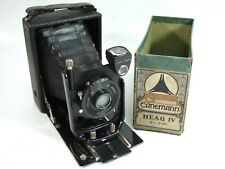 Half-Boxed ERNEMANN HEAG IV Folding CAMERA 6.5x9cm Doppel-Anastigmat 105mm f/6.8