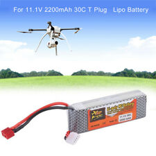 11.1V 2200mAh 30C Battery with T Plug for Remote Control Model Airplanes