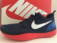 NIKE 631409 414 Solarsoft Run Men Size 11 M Midnight Navy/White/Game Royal