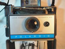 ancien appareil photo vintage - polaroid 210 - fonctionnel - notice et plaquette