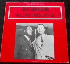 LOUIS ARMSTRONG All Star Dates 1947-1950 LP