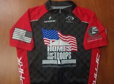 Primal Spark Cycling Team Homes For Our Troops USA Military Performance Jersey L