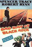 Bad Day at Black Rock - Spencer Tracy & Robert Ryan (DVD, 2005) - No Insert