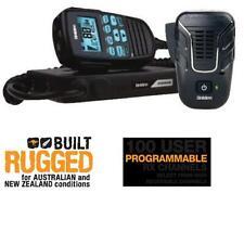 UNIDEN UH8080S NB 80 CHANNEL 5 WATT RADIO+MK800W WIRELESS MICROPHONE PACKAGE