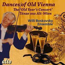 CD DANCES OF OLD VIENNA OLD YEAR'S CONCERT STRAUSS LANNER HAYDN SCHUBERT MAYER
