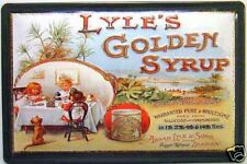Lyles Golden Syrup tea party steel sign  300mm x 200mm (hi)