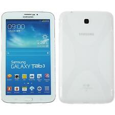 Silicone Case Samsung Galaxy Tab 3 7.0 X-Style transparent + protective foils