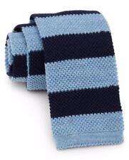 New with Tag - $125 Vineyard Vines Stripe Knit Merino Wool Tie in VINEYARD NAVY