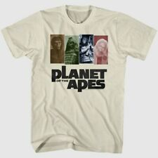 Planet Of The Apes Main Characters Adult Unisex T-shirt - Available in Sm to xxL