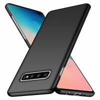 For Samsung Galaxy S10+ (Plus) Case Ultra Slim Hard Back Cover - Matte Black