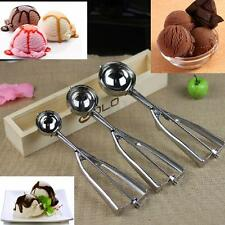 3pcs Stainless Steel Scoop for Ice Cream Mash Food Spoon Kitchen Ball 4 5 6cm