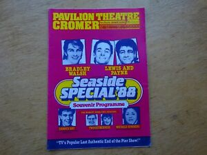 Programme Seaside Special 1988 Pavilion Theatre Cromer featuring Bradley Walsh