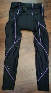 XGC Women's Long Cycling Pants Sz XL Bike Pants Tights Legging with Padding