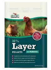 New listing Manna Pro 16-Percent Layer Pellets with Probiotics, 8 lb