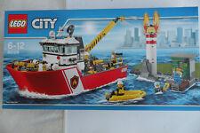 LEGO CITY 60109 -  Le bateau de pompiers- Neuf et scellé