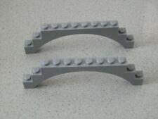 Lego 6108 # 2x Brücke 1x12x3 grau neu hellgrau 7946 8822