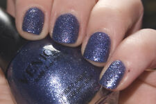 NEW VENIQUE Nail Polish Lacquer in CRUSHED ICICLE ~ Blue Glitter Textured