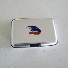 AFL Adelaide Crows Metal Business Card Holder