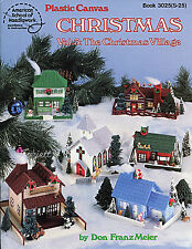 The Christmas Village Vol 3 plastic canvas patterns OOP