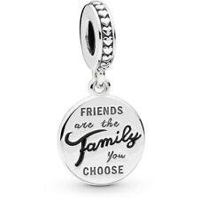 Pandora Charm Pendente gli Amici sono la Famiglia che Scegliamo -con Garanzia