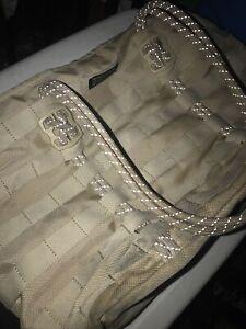 Nike AF-1 Tote Bag Wheat Khaki w/ Reflective Cord Air Force 1 Tactical