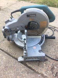Makita LS1040 Mitre Chop Saw 1650W Garage Find Spares Or Repairs