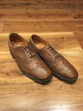 Vintage GRENSON Antelope Leather Brogue Size -9