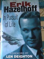 ERIK HAZELHOFF IN PURSUIT OF LIFE Signed/Inscribed HC