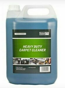 Heavy Duty Carpet Shampoo Cleaner Upholstery Odour Cleaning Detergent 5L