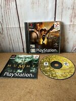 the mummy PS1 Game. Complete (PlayStation One, PAL)