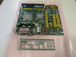 Jetway P901DM Socket 775 motherboard with an intel Dual Core 1.8ghz and 3 gb Ram