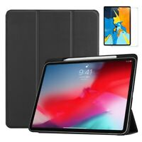 Lightweight Smart Case for iPad Pro 11 inch 2018 & Glass Screen Protector