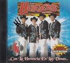 Los Herederos Del Norte Con La Herencia En Las Venas CD New Sealed