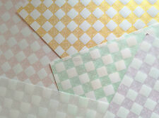 Japanese Screen Print Modern Tiles Origami Paper Made in Japan 20 Shts Chiyogami