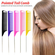 1Pc Fine-tooth Rattail Comb for Hair Highlighting Hairdressing Styling Tools