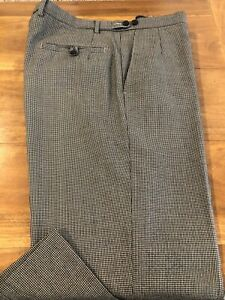 Marks And Spencer Autograph Pants 36 X 32 Wool