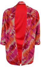 Blazers Casual Floral Coats & Jackets without Fastening for Women