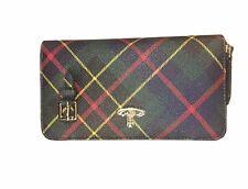 Vivienne Westwood Hunting Tartan Derby Double Zip Round Crossbody Bag