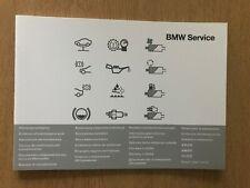 BMW SERVICE BOOK BRAND NEW GENUINE FOR ALL PETROL DIESEL BMW 2 series 3 series