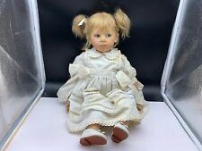 Elisabeth Lindner Künstlerpuppe Vinyl Puppe 53 cm. Top Zustand
