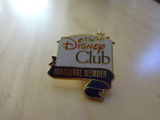 The Disney Club Inaugural Member pin - Limited Edition - New
